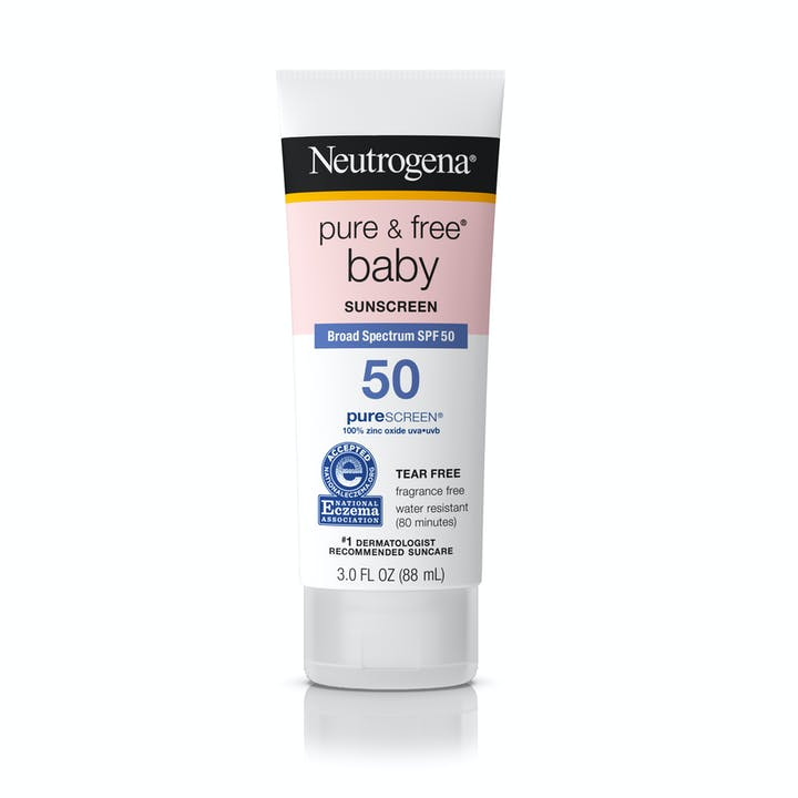 Neutrogena Pure & Free® Baby Sunscreen Lotion Broad Spectrum SPF 50