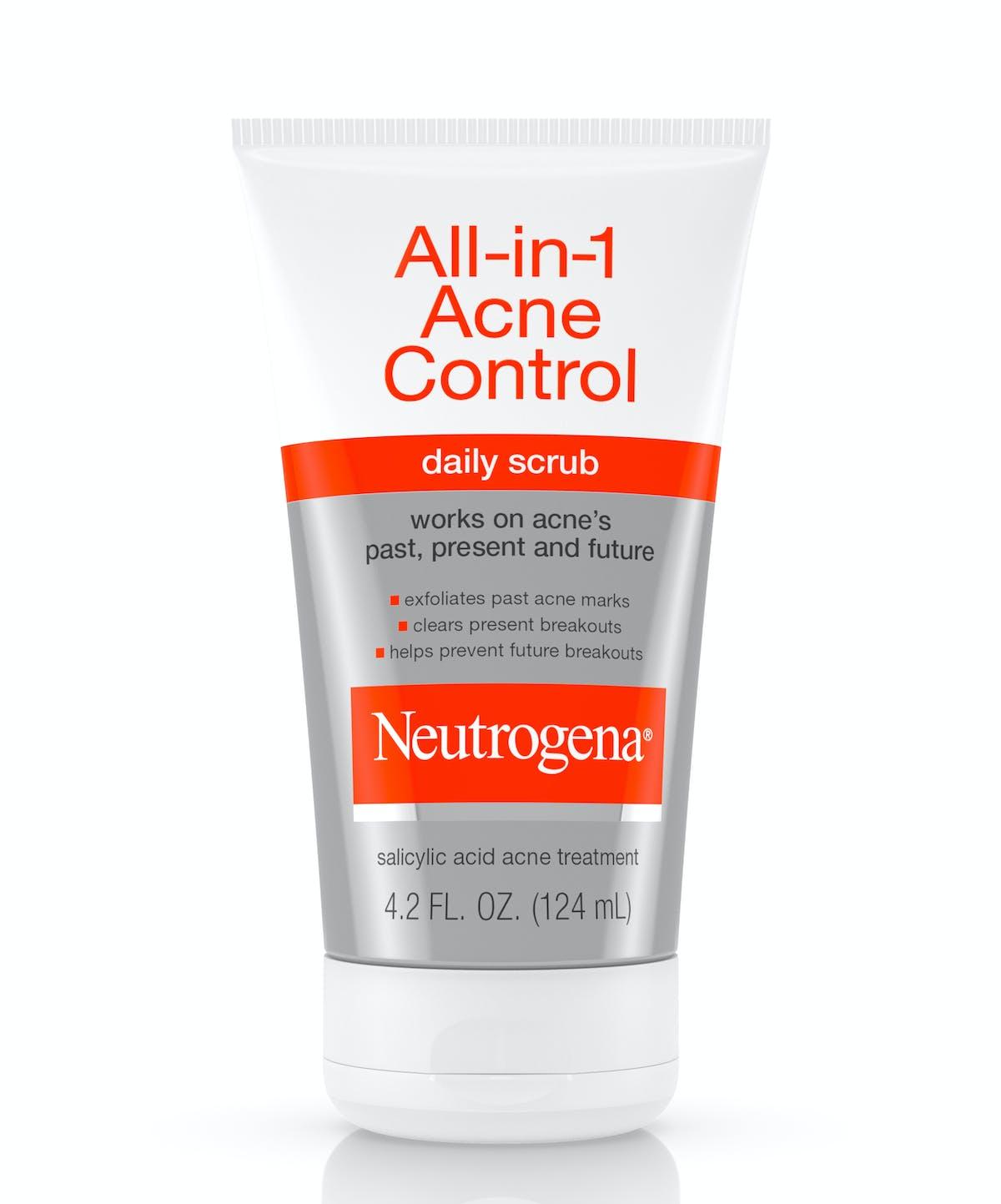 All-in-1 Acne Control Daily Scrub