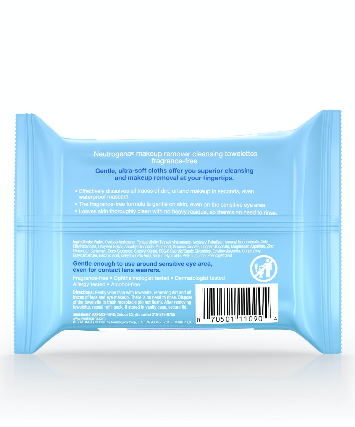 Cleansing Makeup Remover Facial Wipes Neutrogena