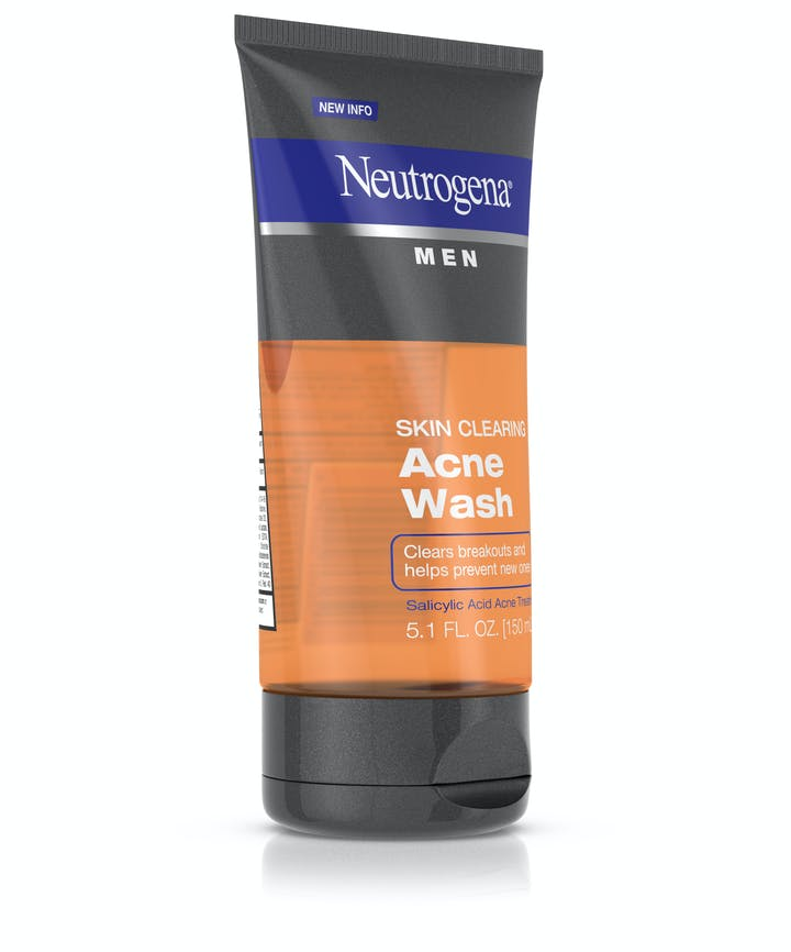 Neutrogena® Men Skin Clearing Acne Wash