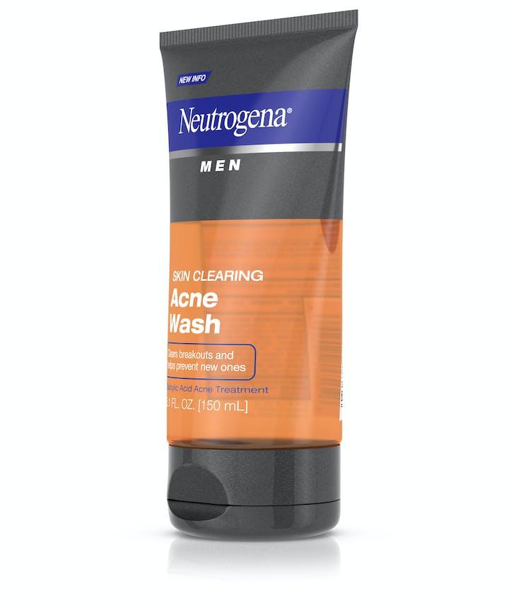 Neutrogena® Men Skin Clearing Acne Wash
