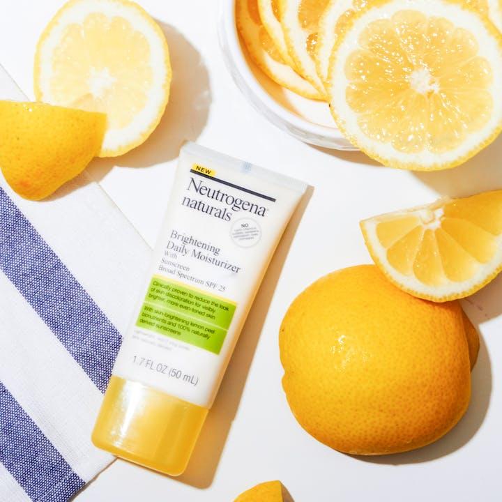 Neutrogena® Naturals Brightening Daily Moisturizer with Sunscreen Broad Spectrum SPF 25