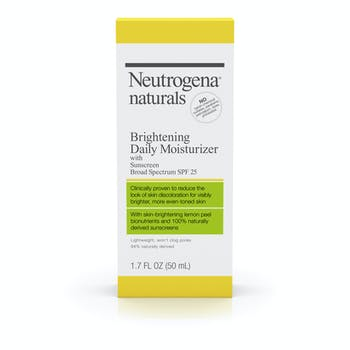Neutrogena® Naturals Brightening Daily Moisturizer with Sunscreen Broad Spectrum SPF 25
