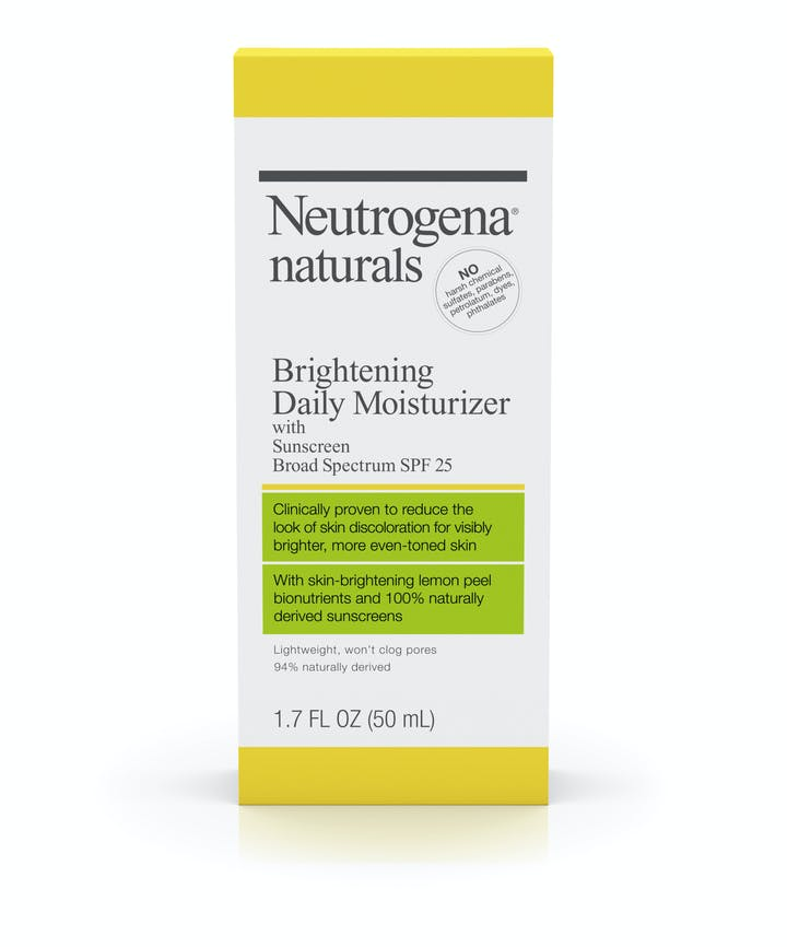 Neutrogena Neutrogena® Naturals Brightening Daily Moisturizer with Sunscreen Broad Spectrum SPF 25