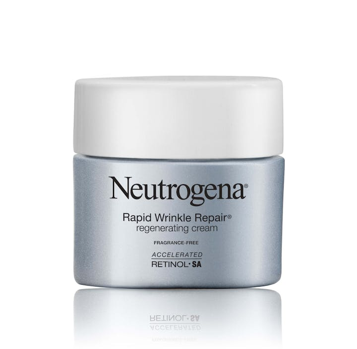 Neutrogena Rapid Wrinkle Repair® Regenerating Anti-Wrinkle Retinol Face Cream, Fragrance-Free
