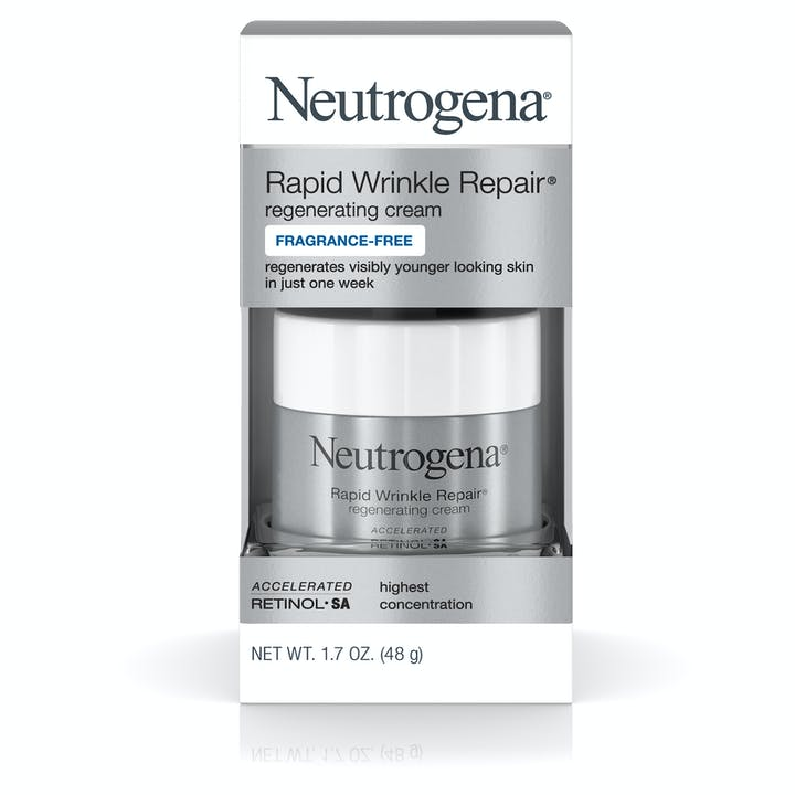 Neutrogena Rapid Wrinkle Repair® Regenerating Cream, Fragrance-Free
