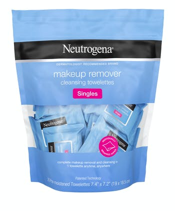 Individually Wrapped Makeup Remover Wipes, Alcohol-Free & Travel-Friendly