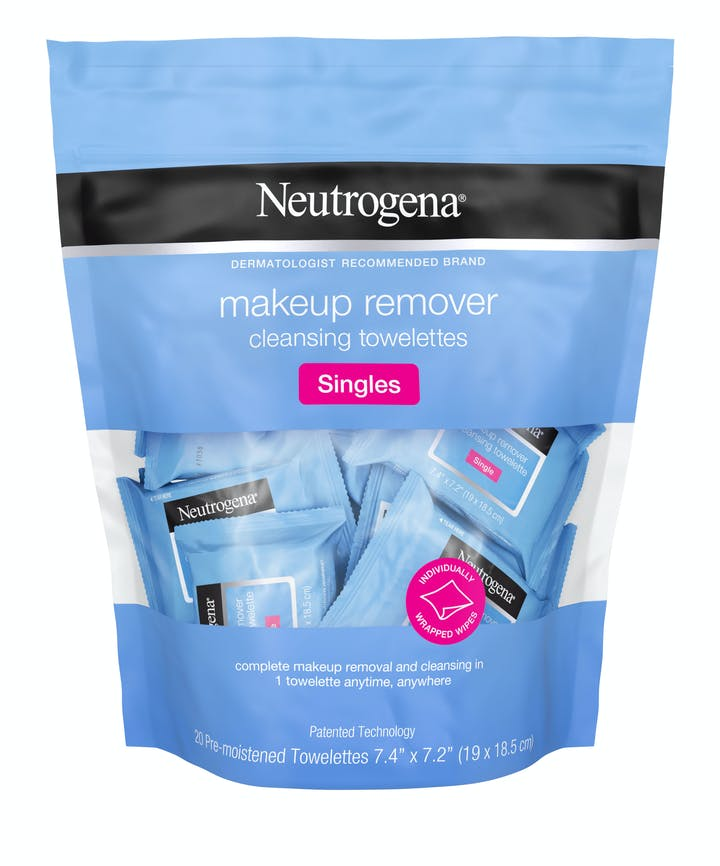 Individually Wrapped Makeup Remover Wipes, Alcohol-Free & Travel-Friendly Singles