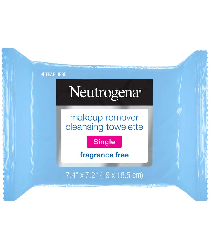 Makeup Remover Cleansing Towelette Singles - Fragrance Free
