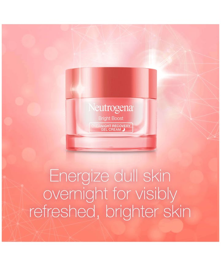 Neutrogena® Bright Boost Overnight Recovery Gel Cream