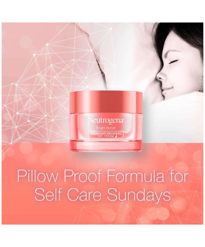 Neutrogena® Bright Boost Overnight Recovery Gel Cream