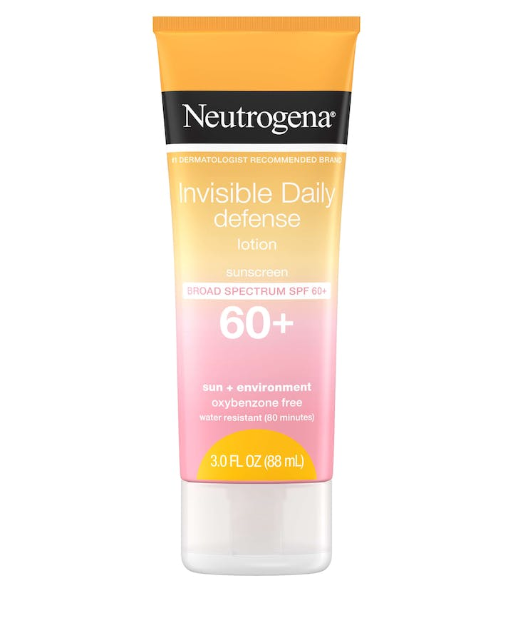 Neutrogena Invisible Daily Defense Sunscreen Lotion SPF60+