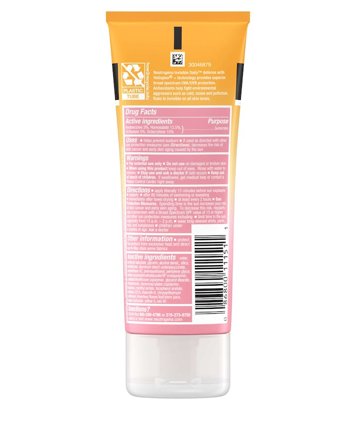 Invisible Daily Defense Sunscreen Lotion SPF60+