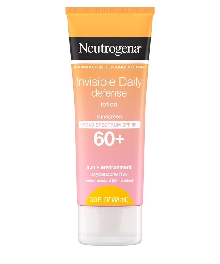 Neutrogena Invisible Daily Defense Sunscreen Lotion SPF 60+