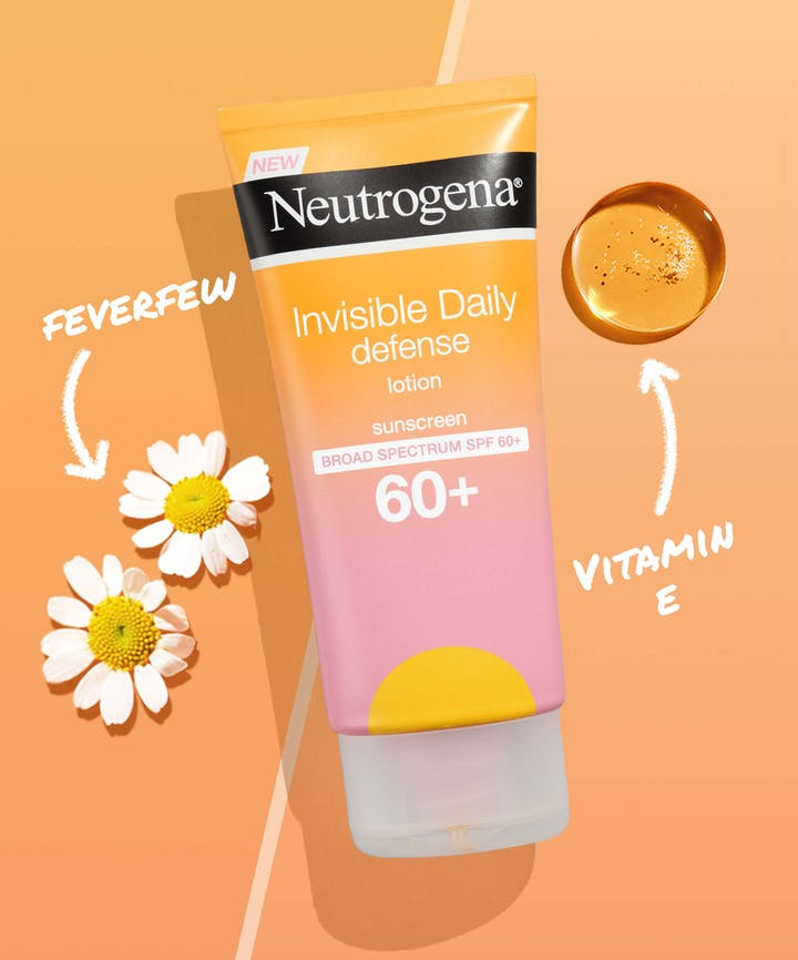 Invisible Daily Defense Sunscreen Lotion SPF 60+