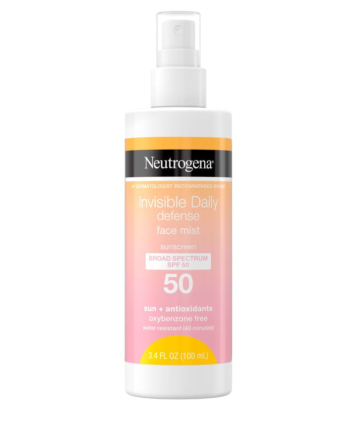 Neutrogena Invisible Daily Defense Facial Mist Sunscreen SPF50