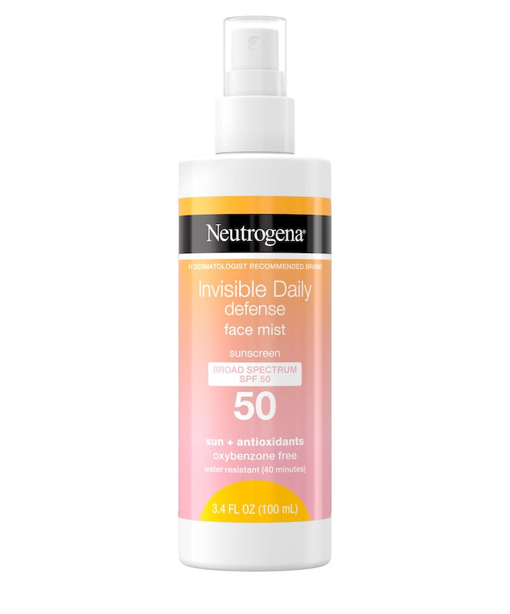 Neutrogena Invisible Daily Defense Face Mist SPF 50