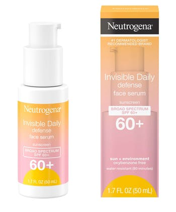 Invisible Daily Defense Face Serum Sunscreen SPF60+