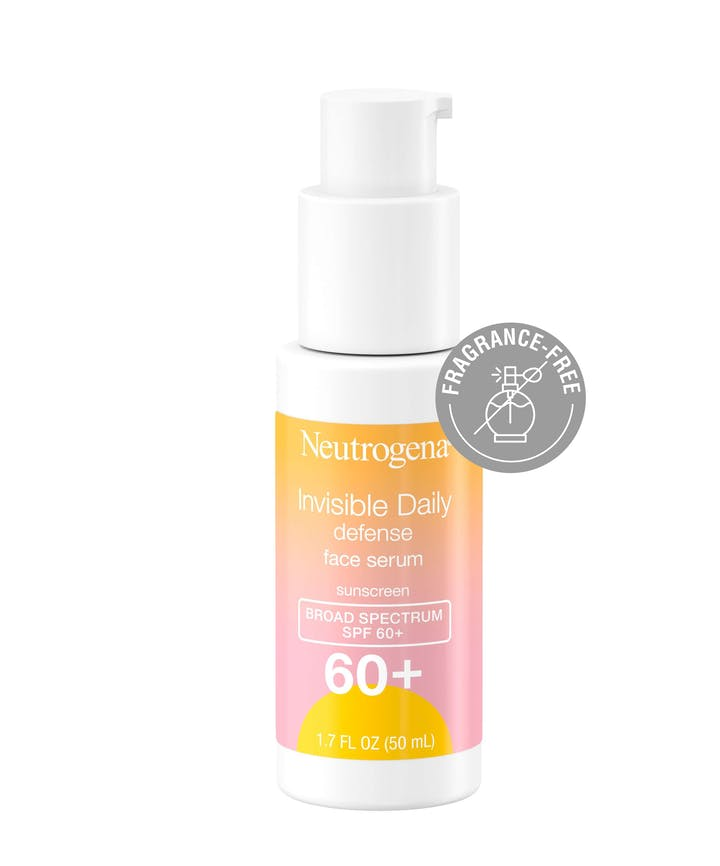 Neutrogena Invisible Daily Defense Face Serum Sunscreen SPF60+