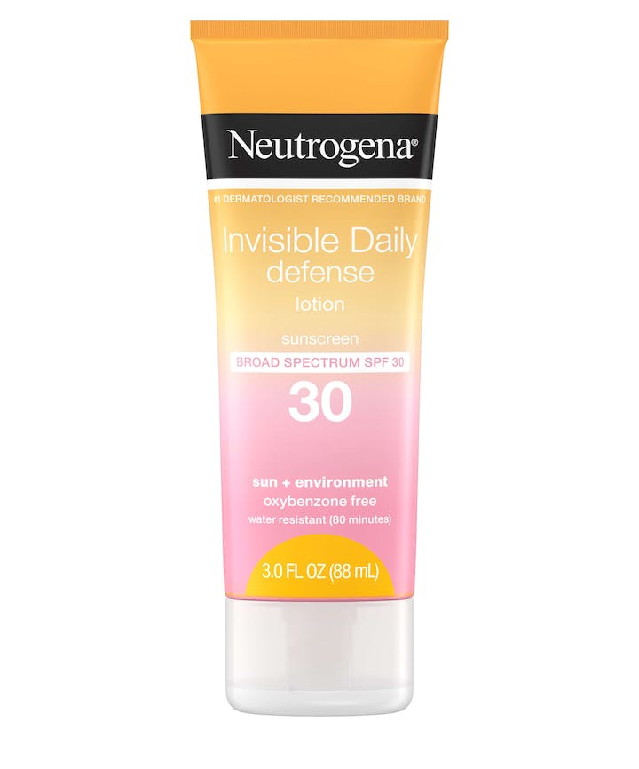 Neutrogena Invisible Daily Defense Sunscreen Lotion SPF30