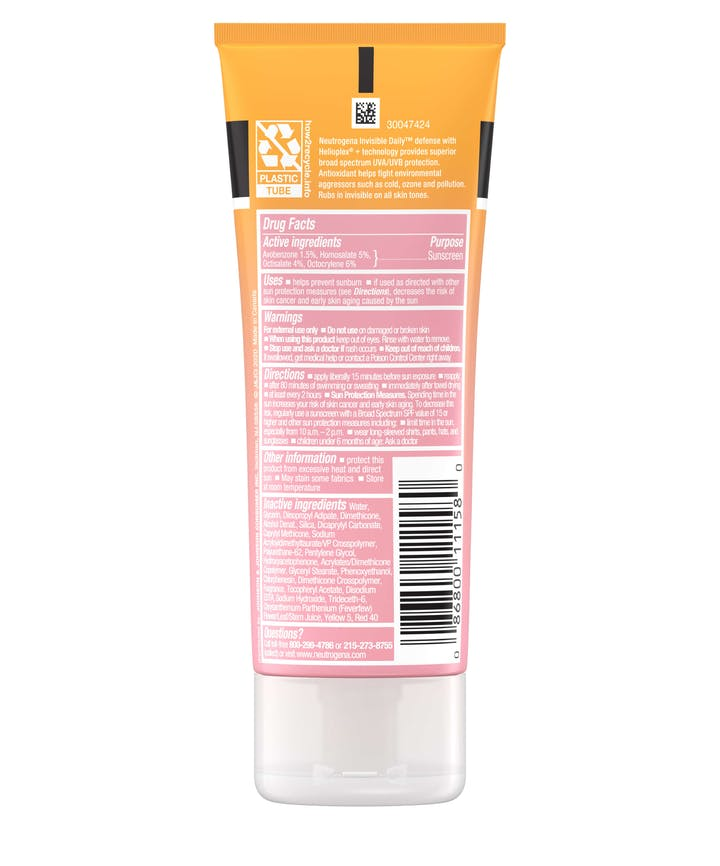 Invisible Daily Defense Sunscreen Lotion SPF 30