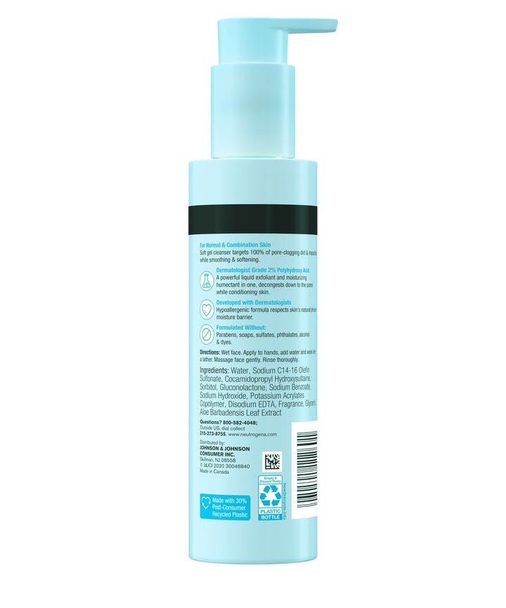 Skin Balancing Gel Cleanser For Combination Skin
