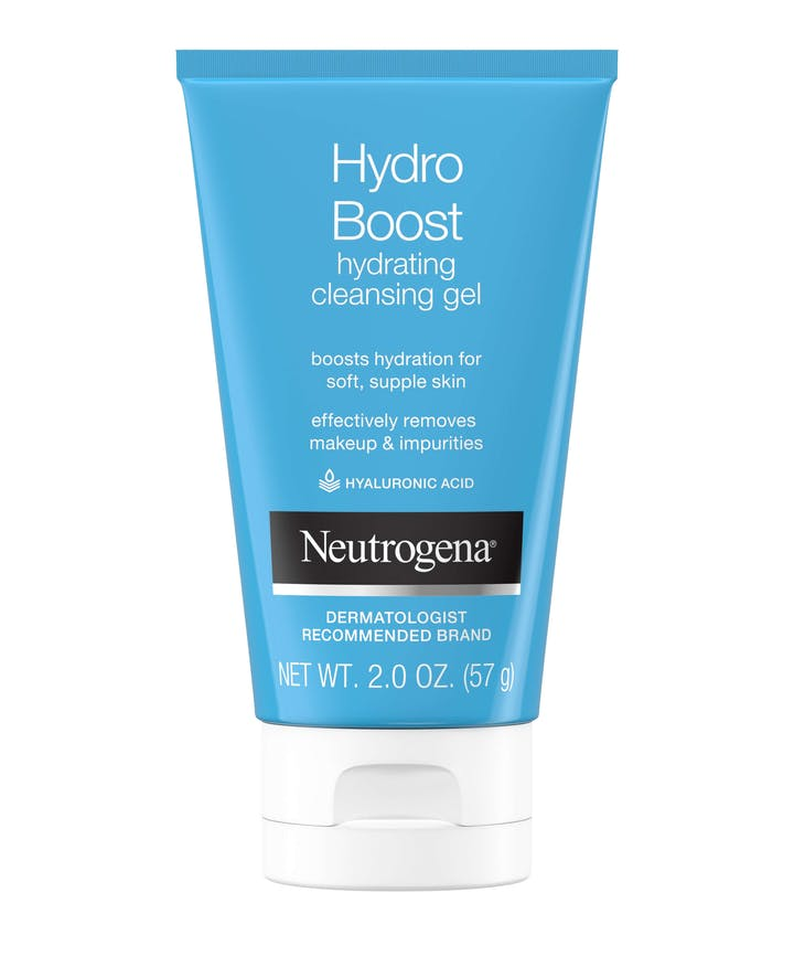 Neutrogena Hydro Boost Hydrating Cleansing Gel & Oil-Free Makeup Remover with Hyaluronic Acid