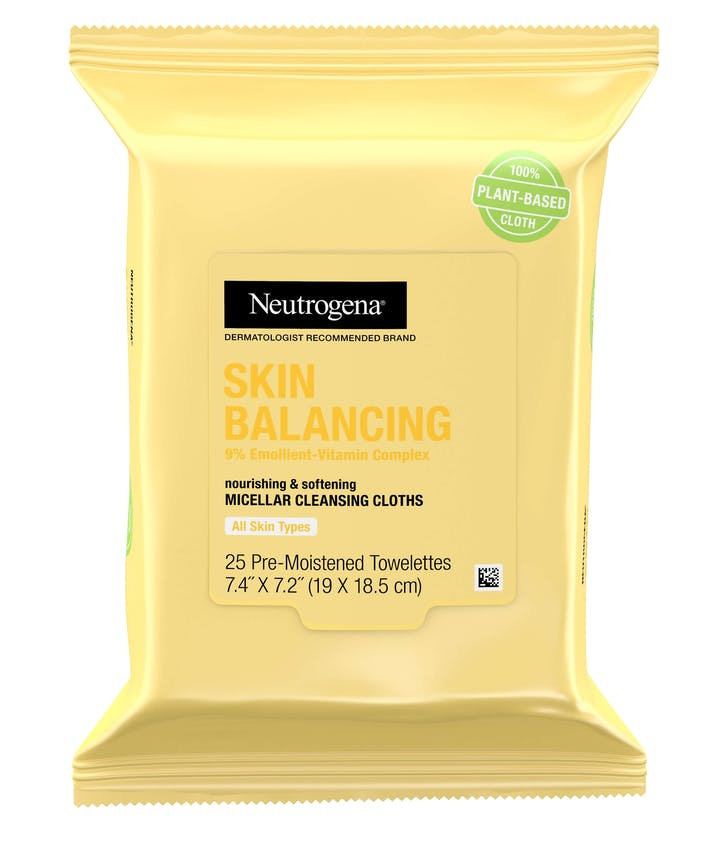 Neutrogena Skin Balancing Micellar Cleansing Cloths