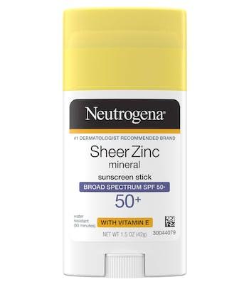 Sheer Zinc Mineral Sunscreen Stick Broad Spectrum SPF 50+