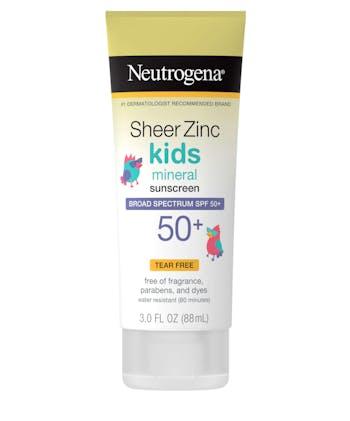 Sheer Zinc Kids Mineral Sunscreen Broad Spectrum SPF 50+