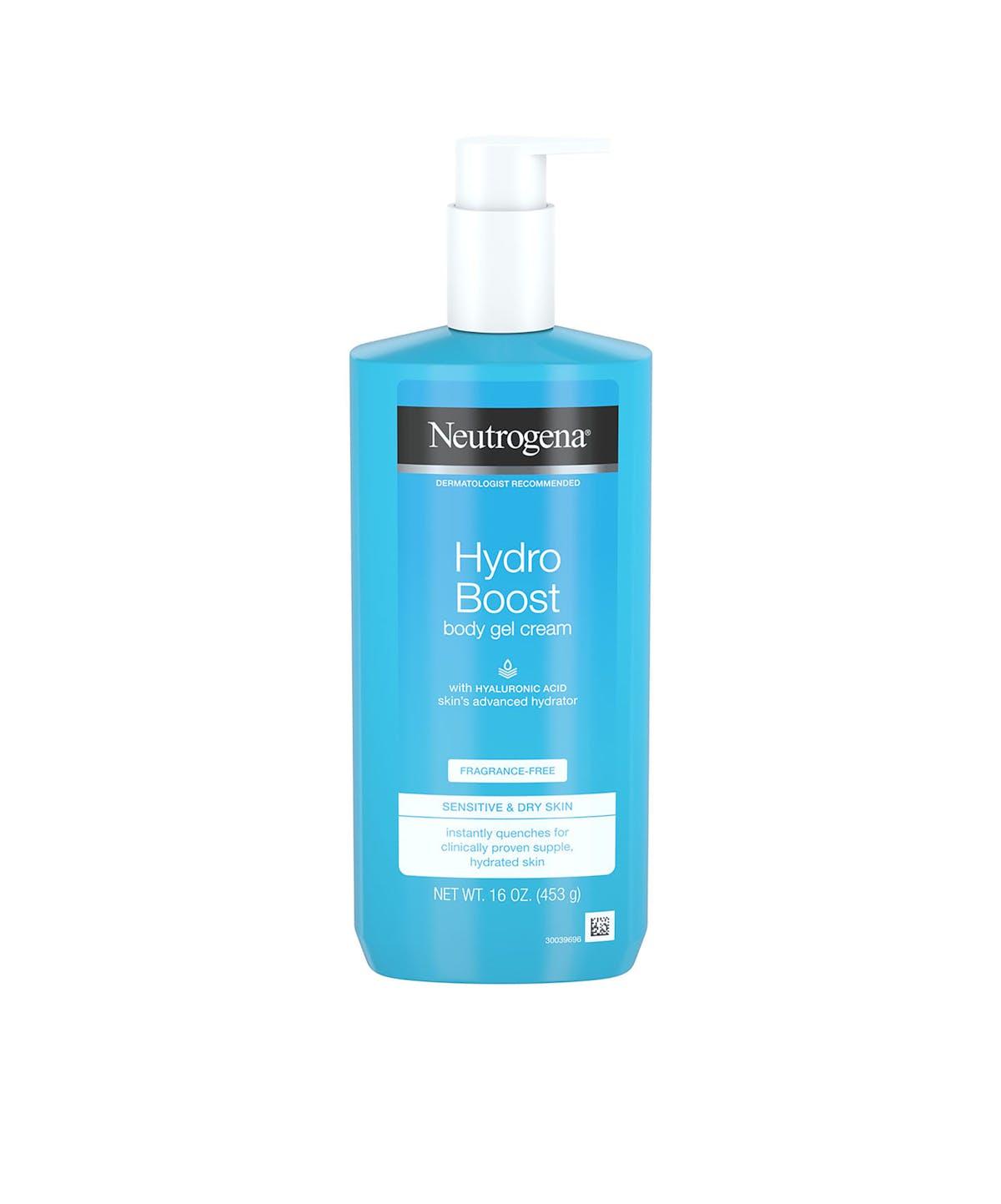Fragrance Free Body Lotion Hydro Boost Gel Body Cream Neutrogena