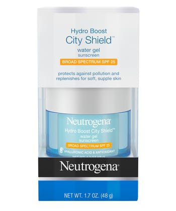 Neutrogena® Hydro Boost City Shield™ Water Gel Sunscreen Broad Spectrum SPF 25