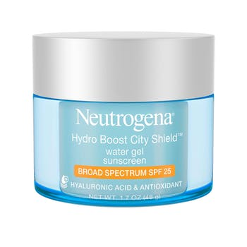 Neutrogena® Hydro Boost City Shield™ Water Gel Sunscreen Broad Spectrum SPF 25