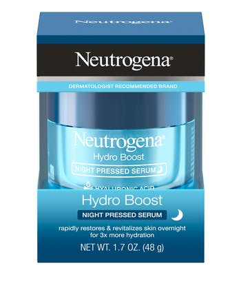 Hydro Boost Night Pressed Face Serum With Hyaluronic Acid