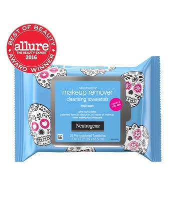 Limited Edition Skull Makeup Remover Wipes 25 Count
