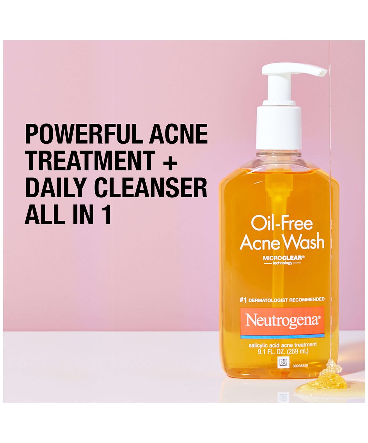 Oil Free Acne Wash Neutrogena