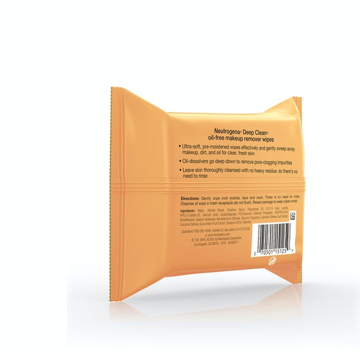 Deep Clean® Oil-Free Makeup Remover Cleansing Wipes