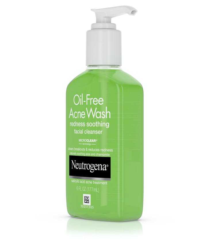 Oil-Free Acne Wash Redness Soothing Facial Cleanser