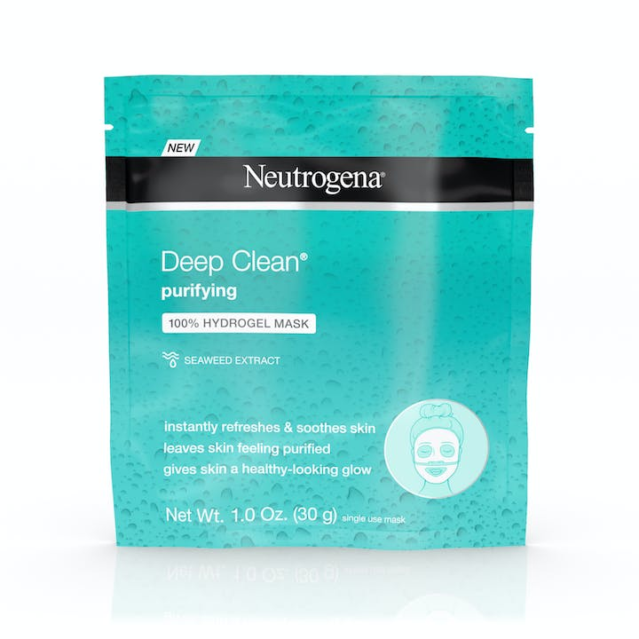 Neutrogena Deep Clean® Purifying 100% Hydrogel Mask