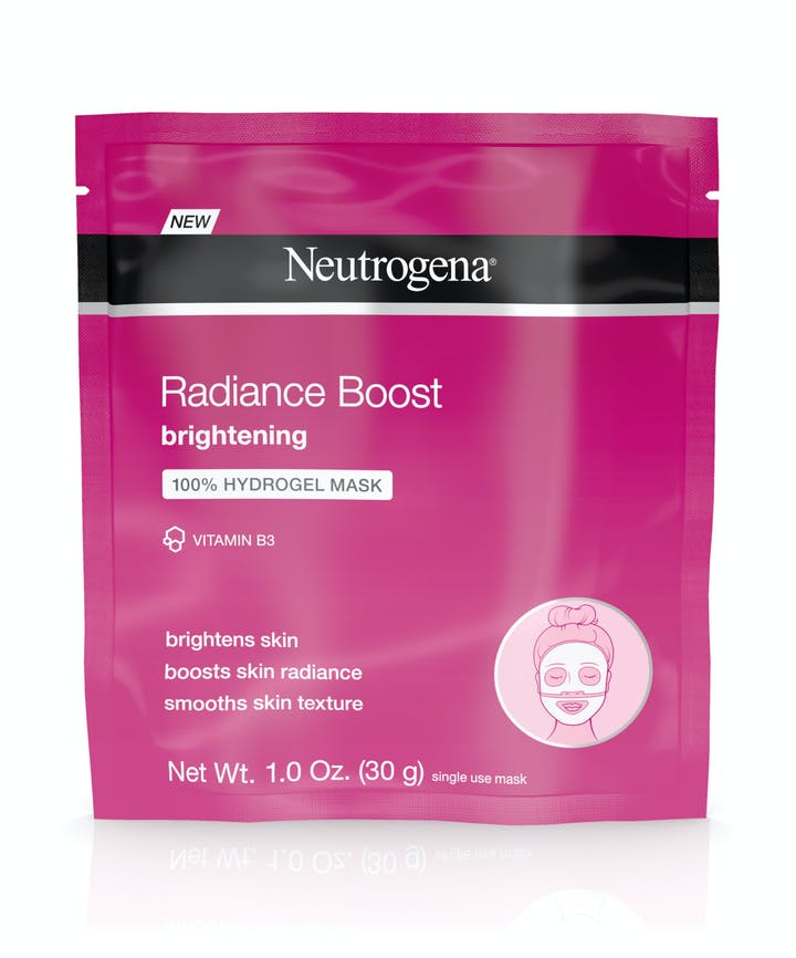 Neutrogena Radiance Boost Brightening 100% Hydrogel Mask