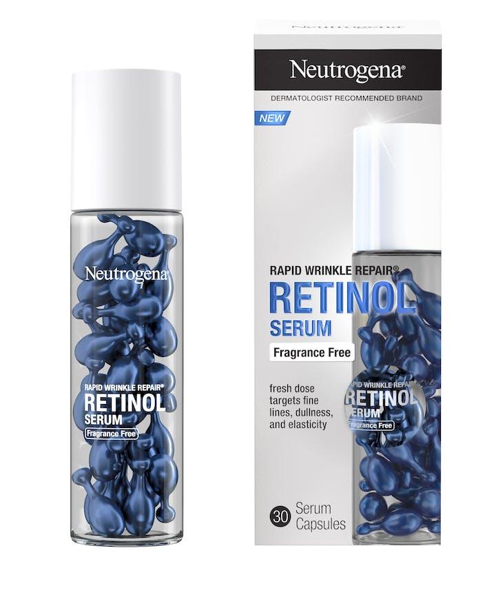 Rapid Wrinkle Repair Retinol Face Serum Capsules