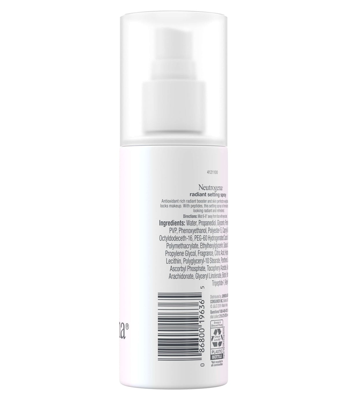 Radiant Makeup Setting Spray With Peptides by Neutrogena #21