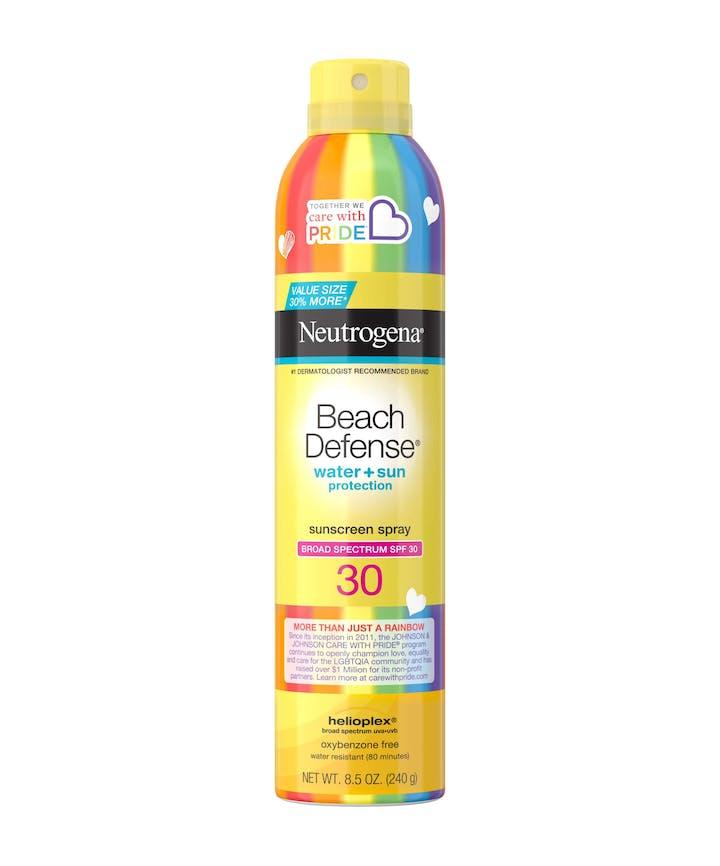 Neutrogena Beach Defense® Water + Sun Protection Sunscreen Spray Broad Spectrum SPF 30