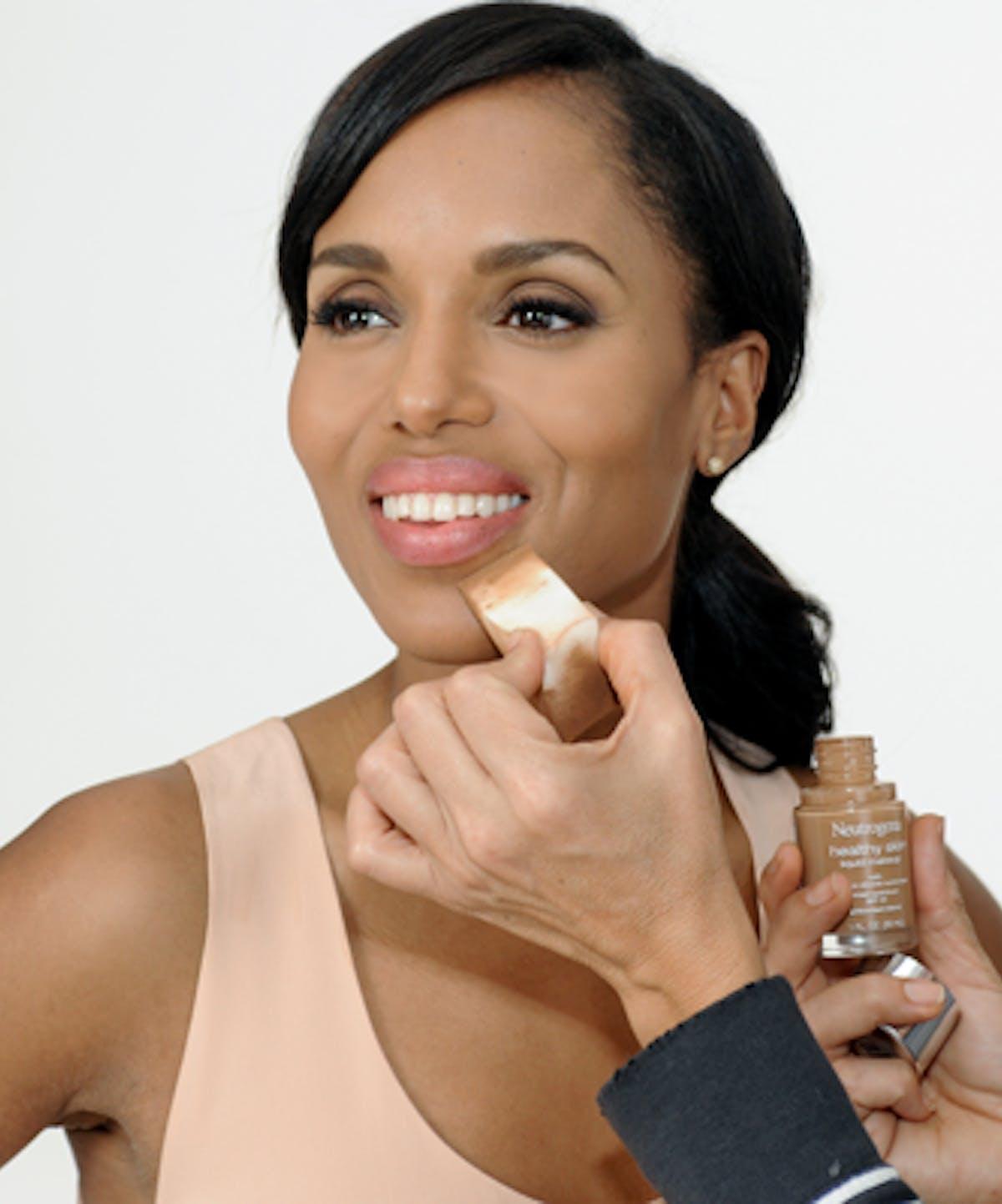 Skin Health: Healthy Skin Liquid Makeup Foundation With SPF