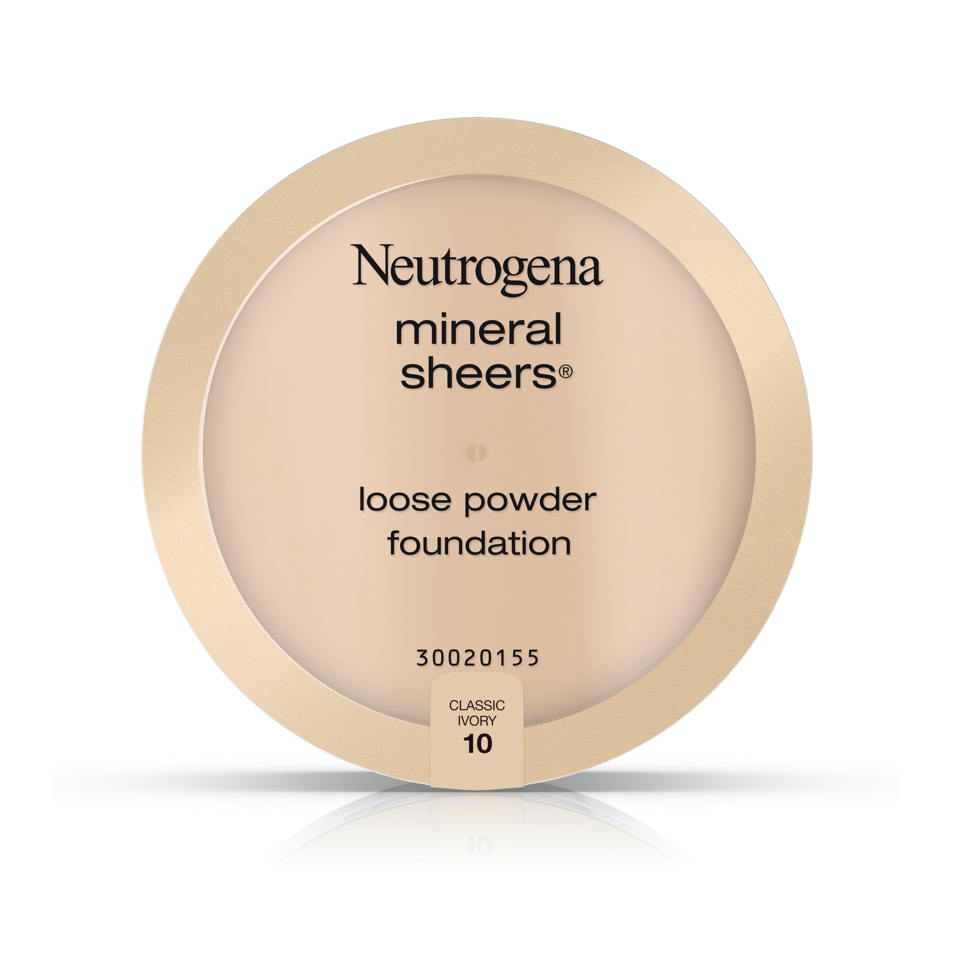 Mineral Sheers Loose Powder Foundation Neutrogena