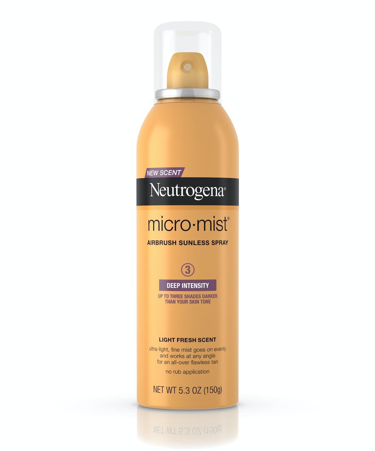 micromist airbrush sunless tan self tanning spray neutrogena