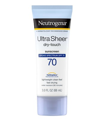 Ultra Sheer® Dry-Touch Sunscreen Broad Spectrum SPF 70