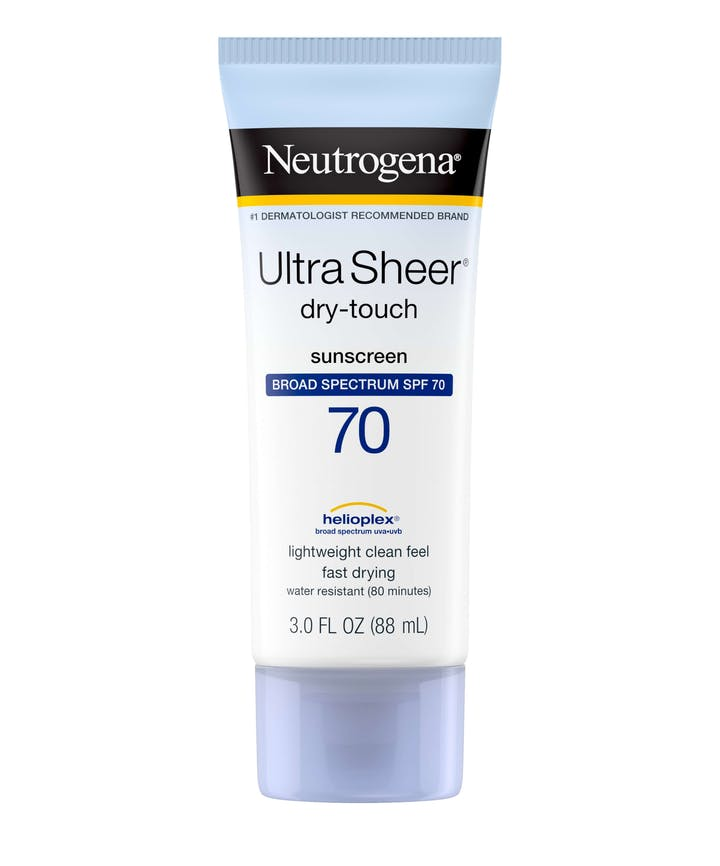 Neutrogena Ultra Sheer® Dry-Touch Sunscreen Broad Spectrum SPF 70