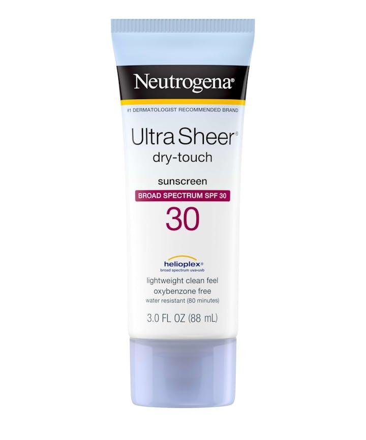 Neutrogena Ultra Sheer® Dry-Touch Sunscreen Broad Spectrum SPF 30