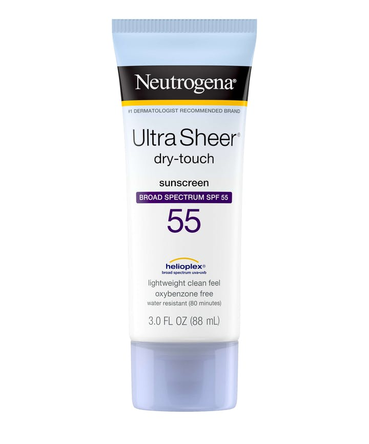 Neutrogena Ultra Sheer® Dry-Touch Sunscreen Broad Spectrum SPF 55